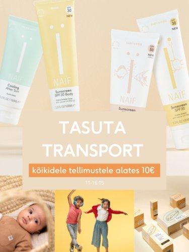 Tasuta transport 10€
